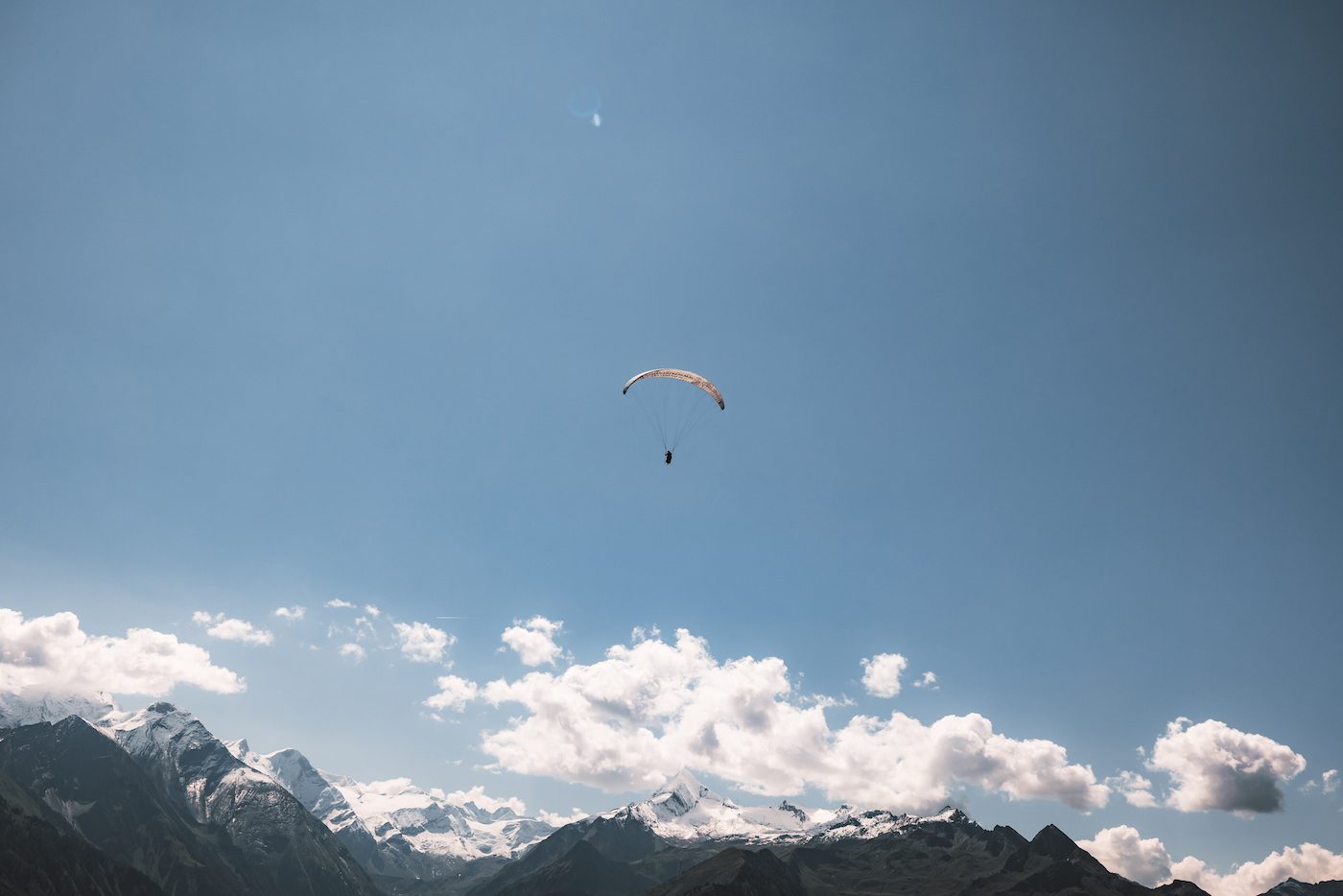 Zell am See paragliden
