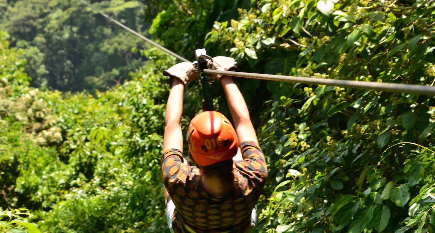 Zip lining Costa Rica