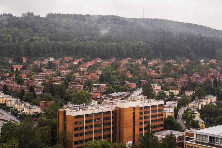 Zlín stad tsjechie