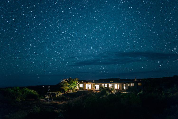 Zuid-Afrika cederberg sterren 's nachts