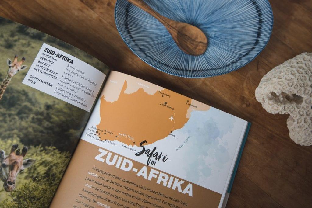 Zuid Afrika tips route boek backpack bestemmingen