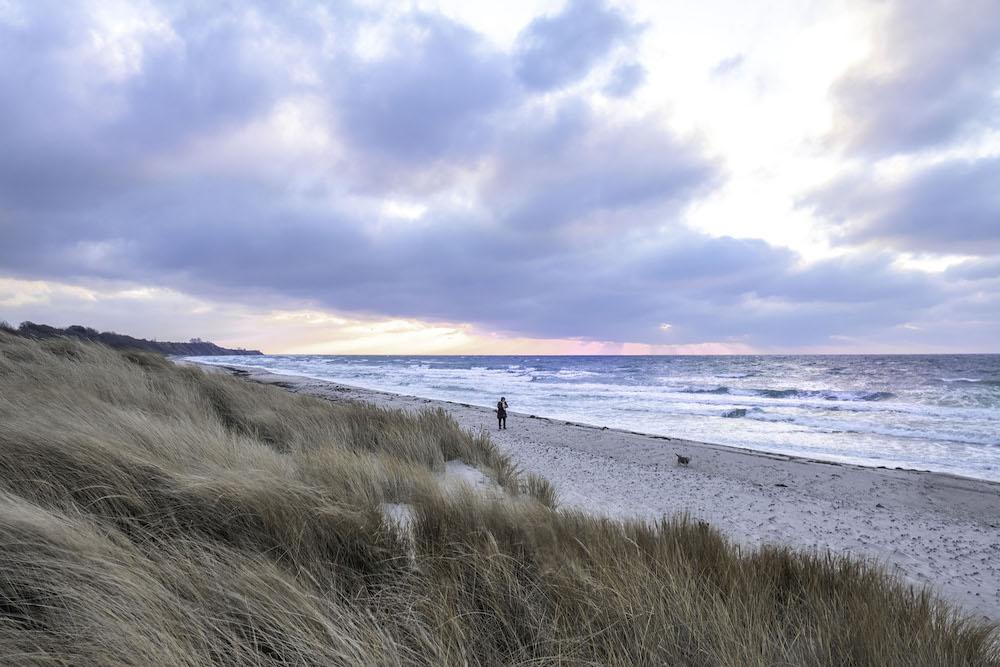 Zuid Denemarken strandwandeling roadtrip