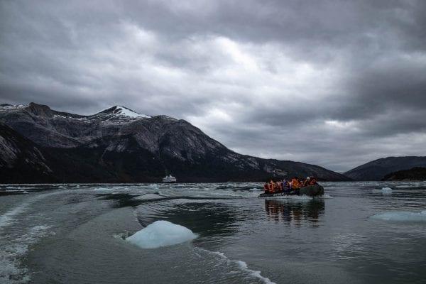 Zuid Patagonie cruise gletsjer excursie
