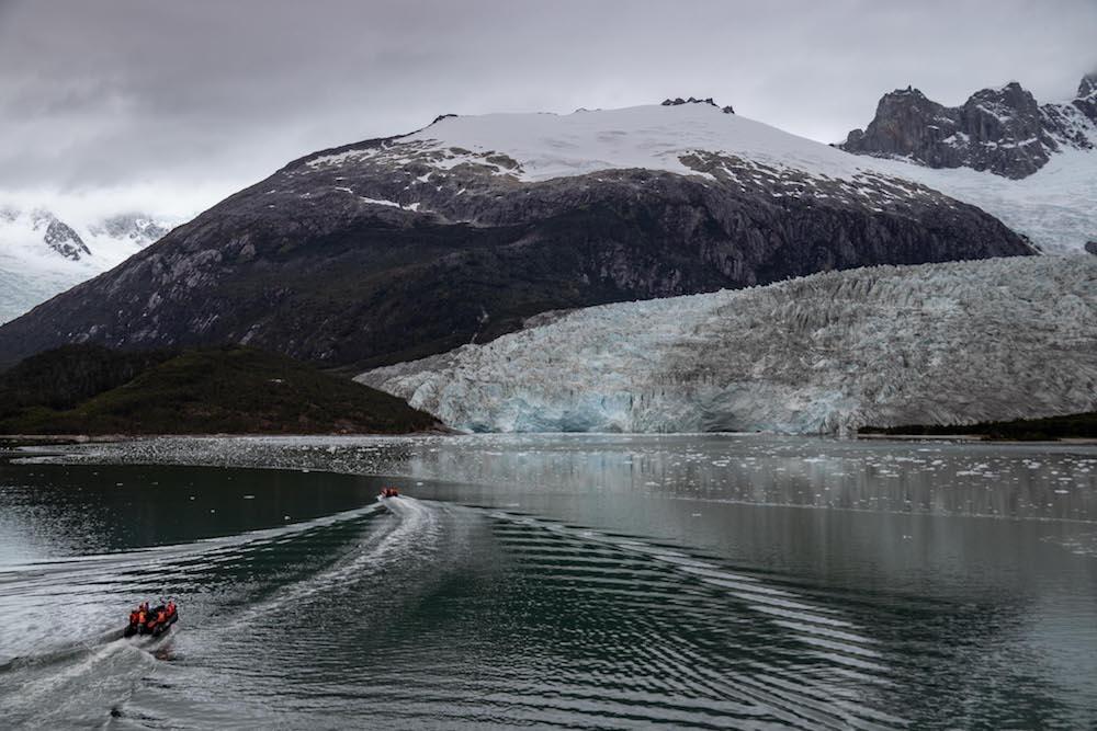 Zuid Patagonie cruise naar gletsjer