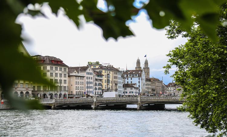 Zurich-stedentrip rivier