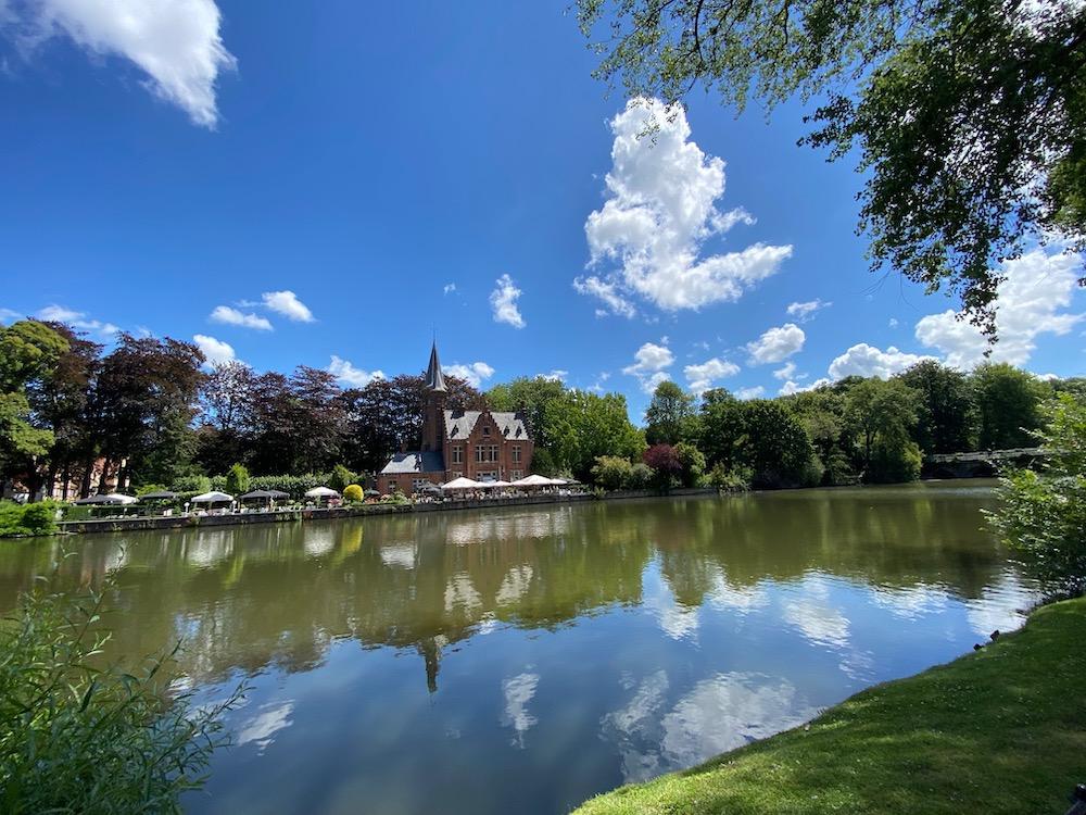 Zwanen Minnewaterpark Brugge Loverslake Bezienswaardigheden