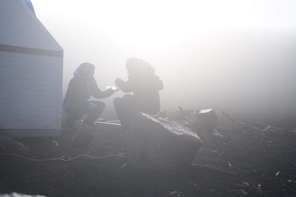 acatenango volcano kamperen overnachten