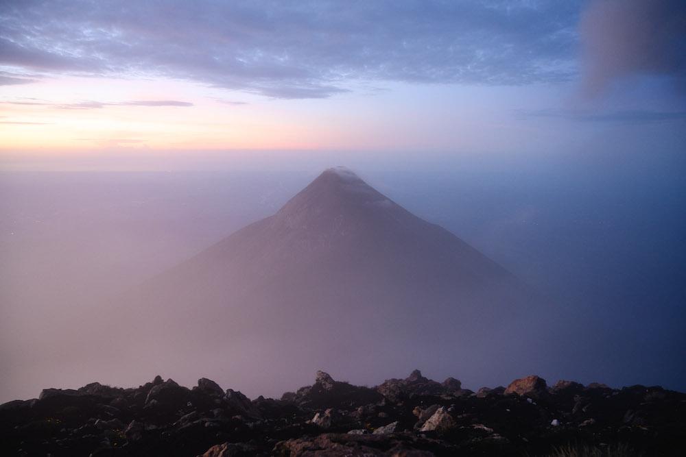 acatenango volcano uitzicht guatemala