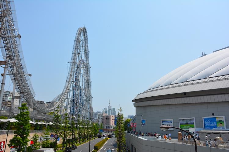 achtbaan tokyo dome
