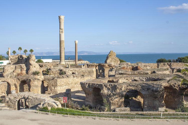 activiteiten carthago ruines tunesie