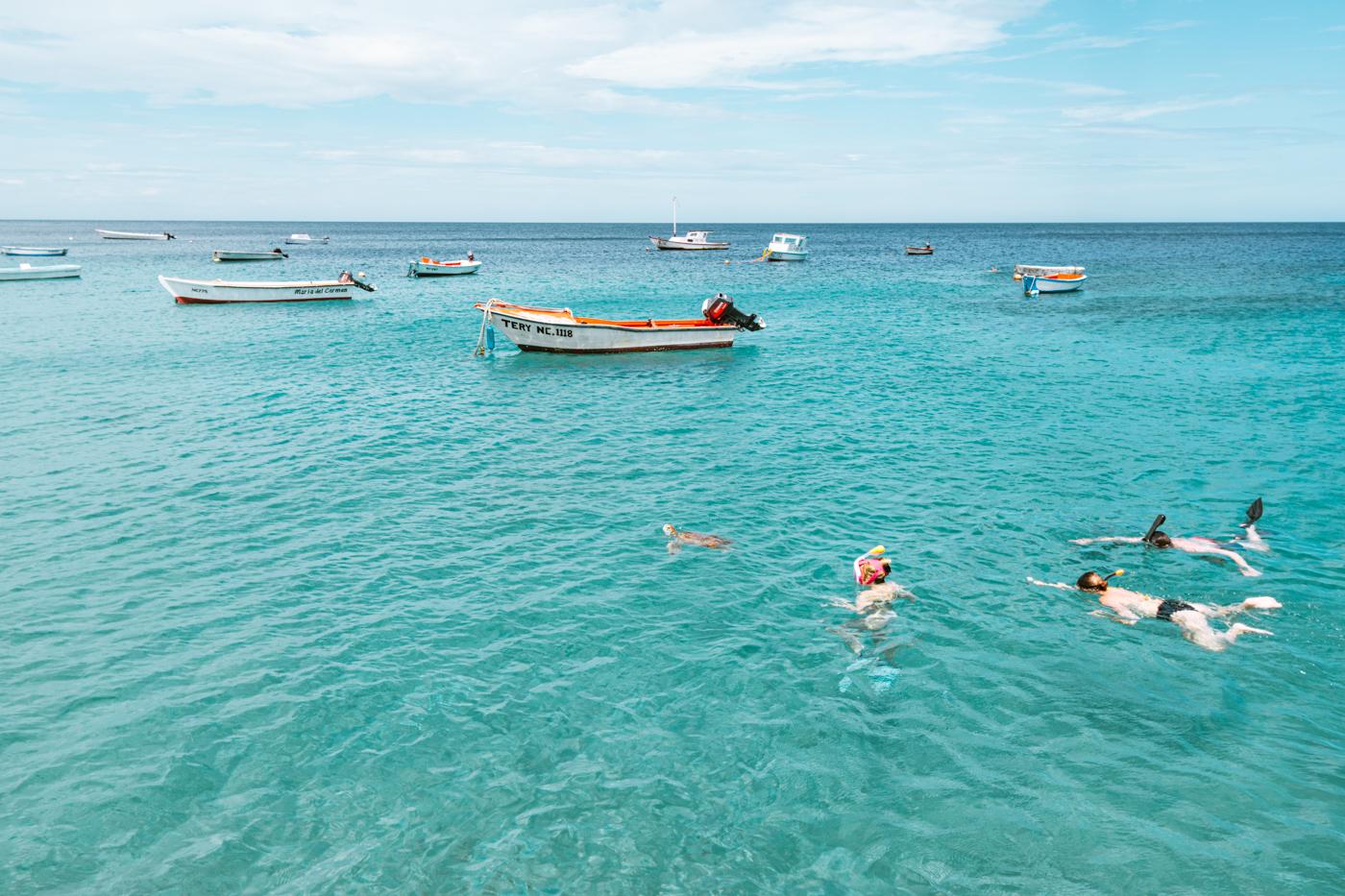 activiteiten curacao snorkelen