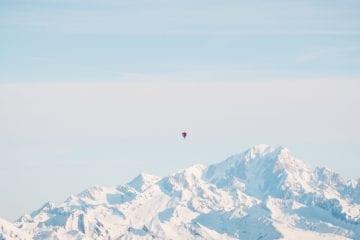 activiteiten in Val Thorens ballonvlucht
