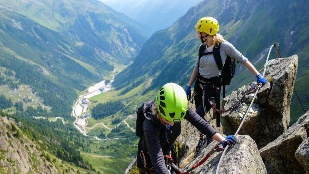 activiteiten in stubaital zomer Kletterstigen