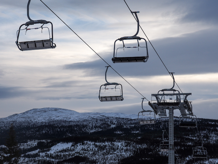 activiteiten lapland lift are skipiste
