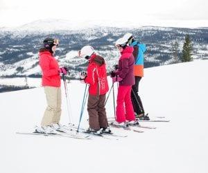 activiteiten lapland skiën