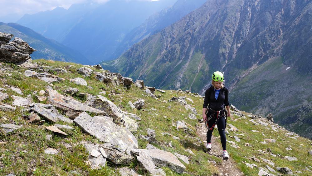 activiteiten stubaital zomer Klettersteigen