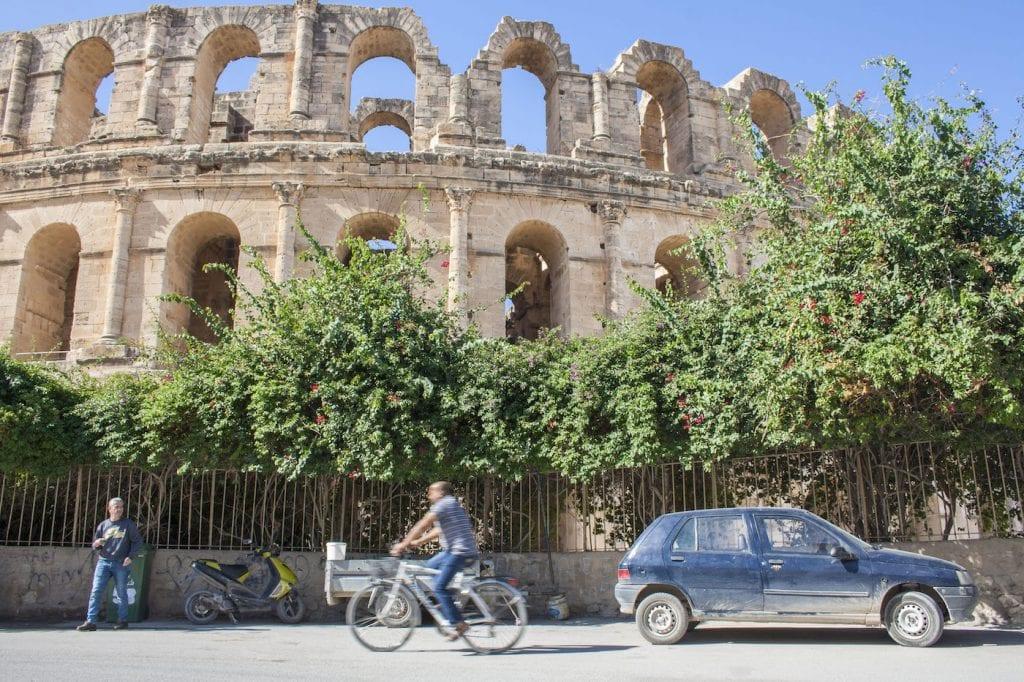 activiteiten tunesie Amfitheater buiten