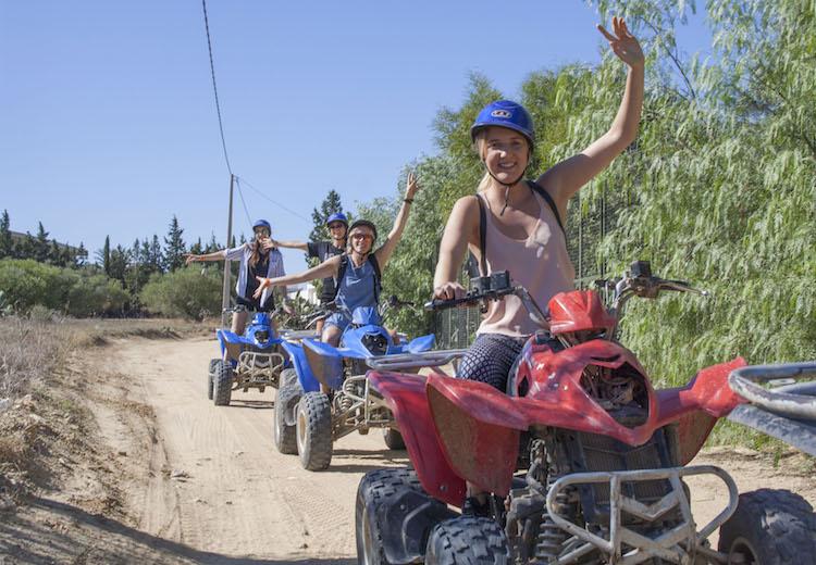 activiteiten tunesie Quad rijden