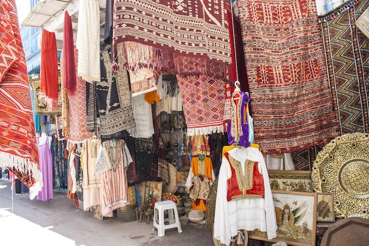 activiteiten tunesie shoppen in Medina