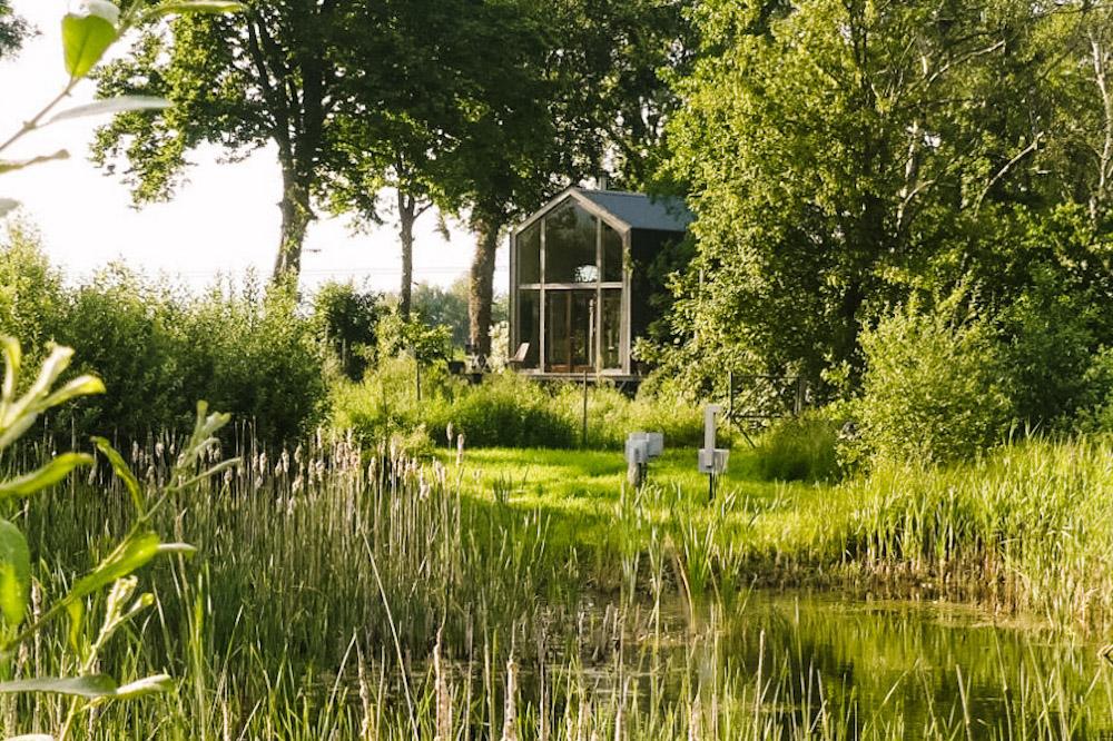 afgelegen huisje nederland Groningen