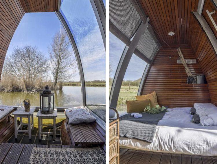 afgelen huisje huren in nederland