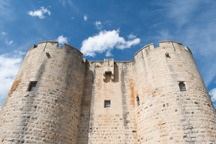 aigues mortes stadsmuur Tours et Remparts