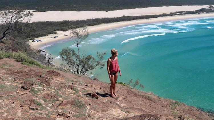alleen australie backpacken tips viewpoint