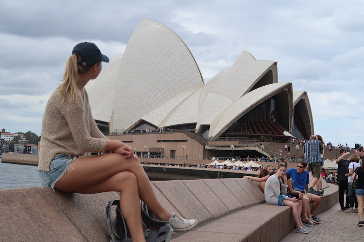 alleen backpacken australie sydney
