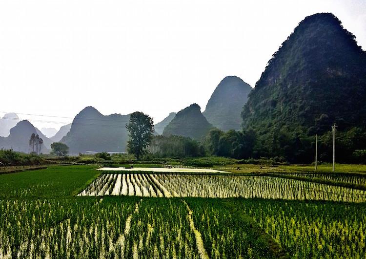 alleen backpacken china 4 weken route
