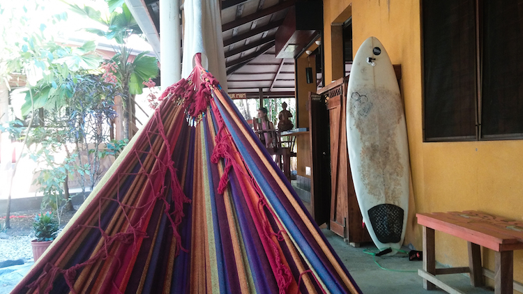 alleen backpacken in costa rica route santa Teresa
