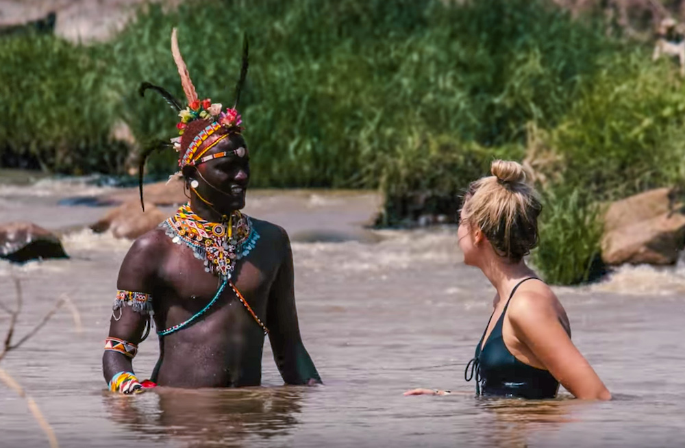 alleen op reis afrika