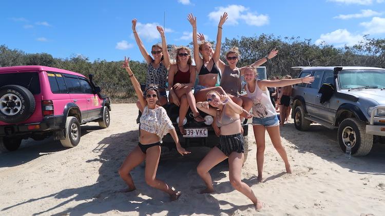 andere backpackers ontmoeten backpacken australie alleen