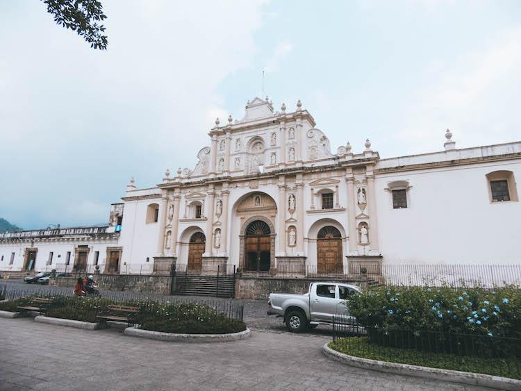 antigua guatemala koloniale panden