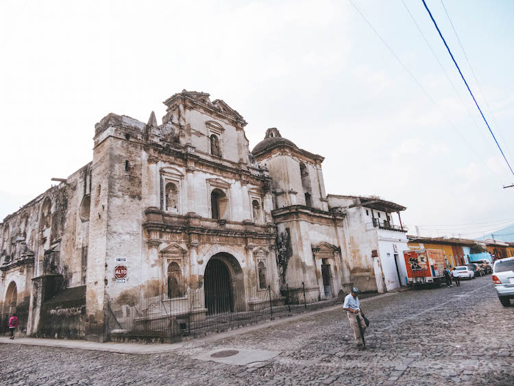 antigua guatemala straatjes