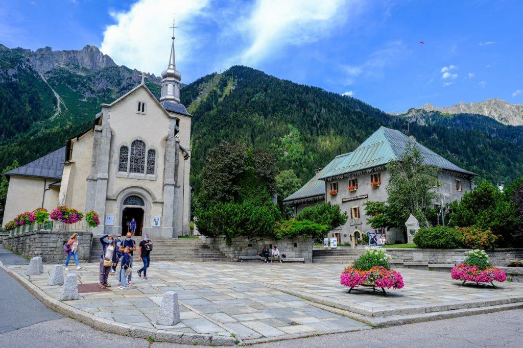 argentiere Wandelen in Frankrijk mont blanc
