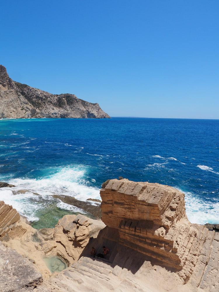 rotsen in zee