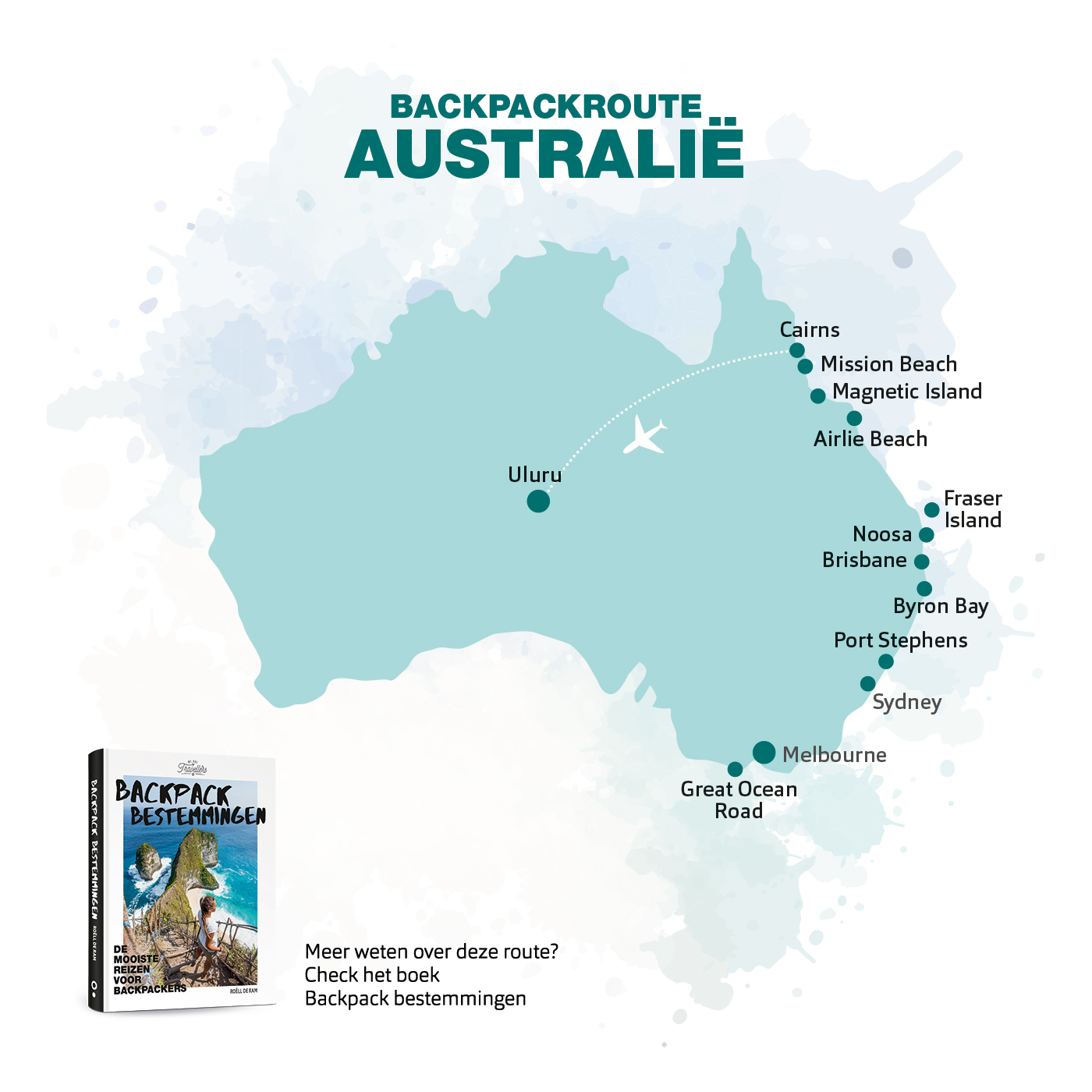 backpack route australie boek backpack bestemmingen