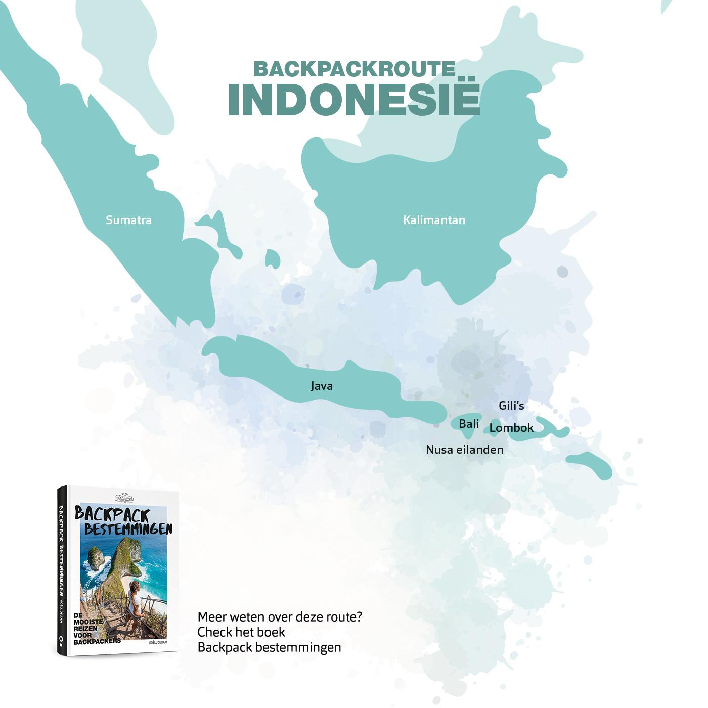 backpack route indonesie boek backpack bestemmingen