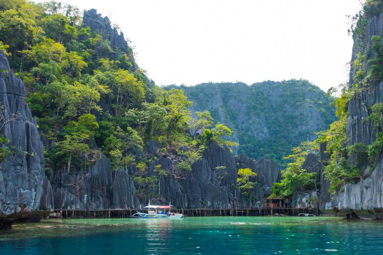 backpack route filipijnen palawan Coron-1