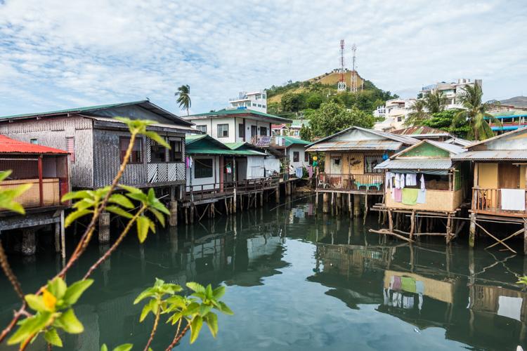 backpack route filipijnen palawan Coron-stad-1