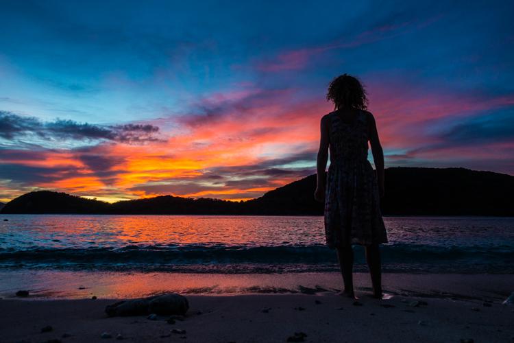 backpack route filipijnen sibaltan sundown