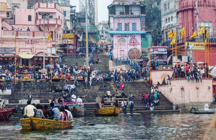 backpack route india varanassi