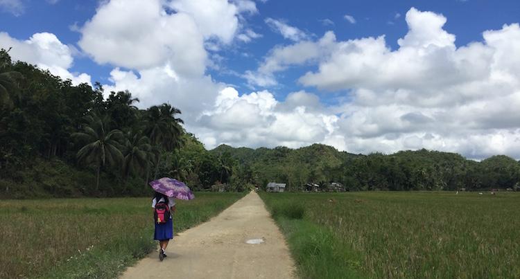 backpacken filipijnen alleen binnenland