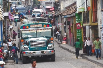 backpacken guatemala Chichicastenango
