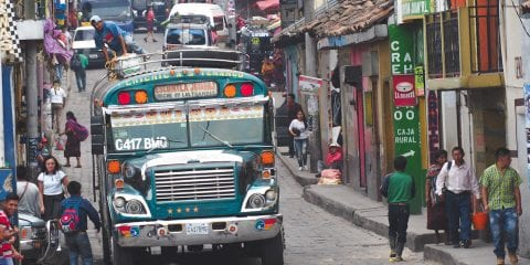 backpacken guatemala Chichicastenango
