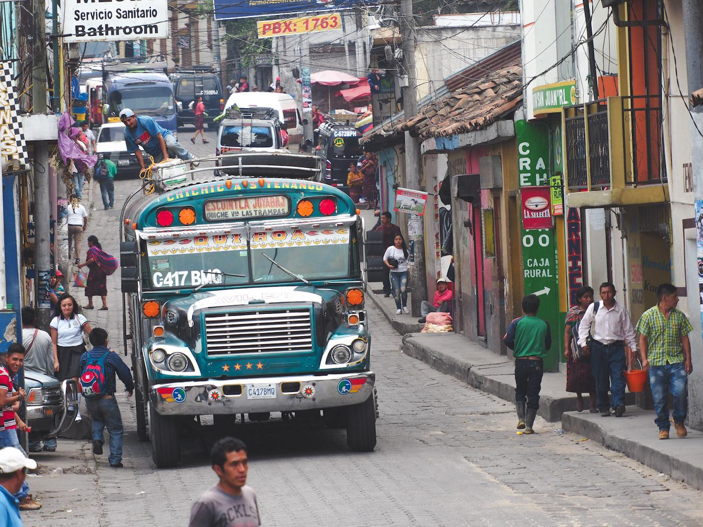 backpacken midden amerika guatemala Chichicastenango