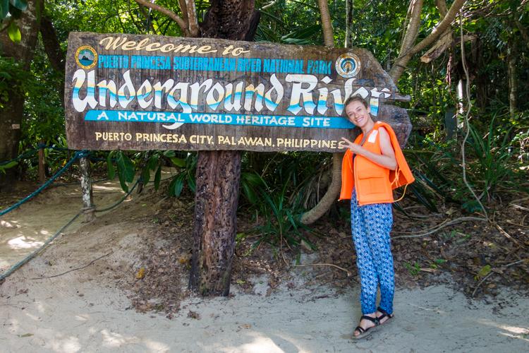 backpacken in filipijnen palawan underground river