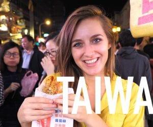 Backpacken in taiwan youtube video