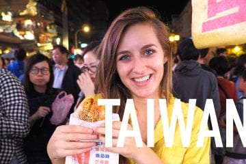 Backpacken in taiwan youtube video