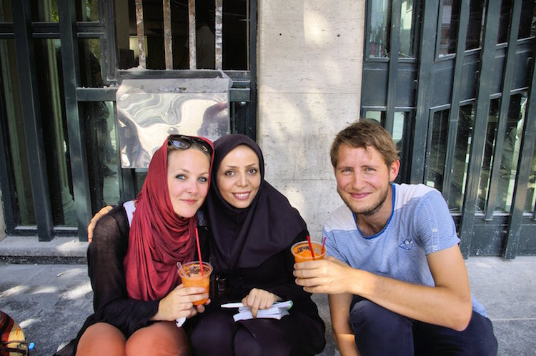 backpacken iran bevolking